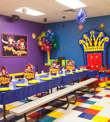 pump it up birthday party