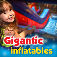 Gigantically fun inflatables!