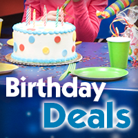 Find birthday party deals