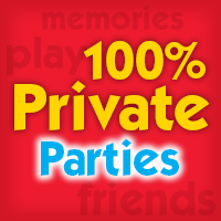 Come to Pump It Up for your private party!