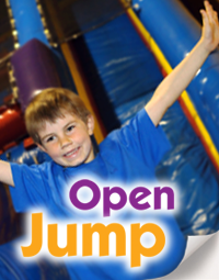 Open Jump always has fun activities for kids!