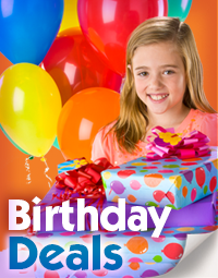 Birthday party deals at Pump It Up