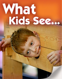 We see things differently than kids.