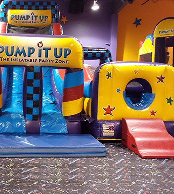 Inflatables at Pump It Up
