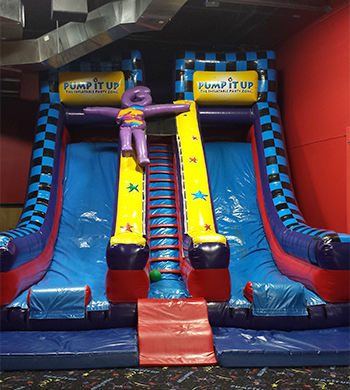 Double Lane Slide - Inflatable