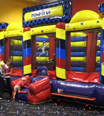 Basket Ball Bounce at Pump It Up Morgan Hill