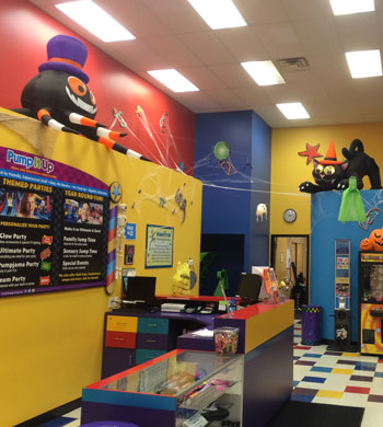 Inside Pump It Up of Hartville
