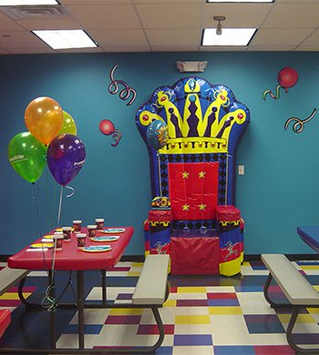 Pump It Up Party Room
