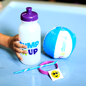 Add our water bottle goodie bag to your kids birthday party