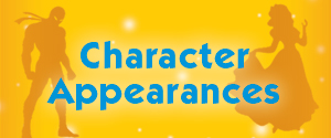 Add characters to your birthday party
