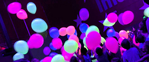 Glow Balloon Drop