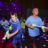 Add glow wars to any birthday party for kids
