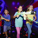 Glow Wars adds another dimension to your next birthday party