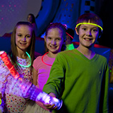 Jump-N-Jam is one of the many great activities for kids at Pump It Up