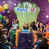 Celebrating another great birthday party at Pump It Up