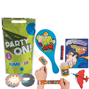Super Hero Goodie Bags