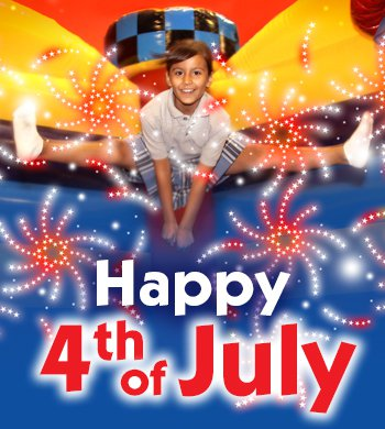 Celebrate July 4th at Pump It Up
