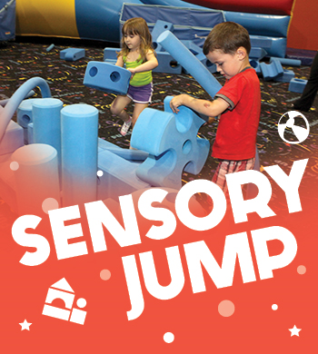 Jump, slide, and play at Sensory Jump