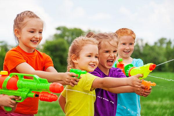 Summer Birthday Water Guns