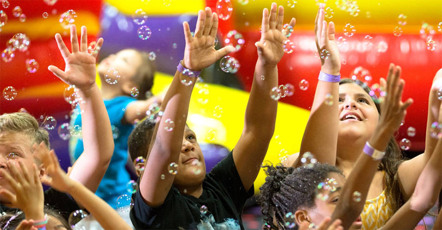 Bubbles are a very popular party favor that are fun for everyone.