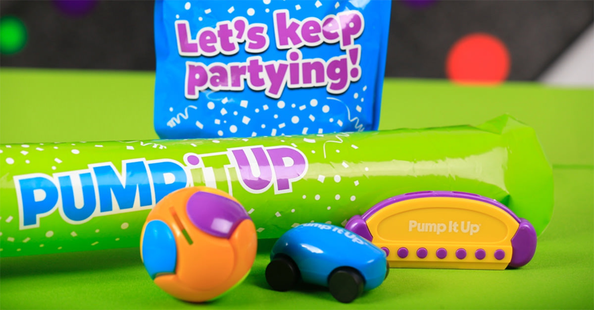 Pump It Up has a wide variety of party favors for all types of events and parties.
