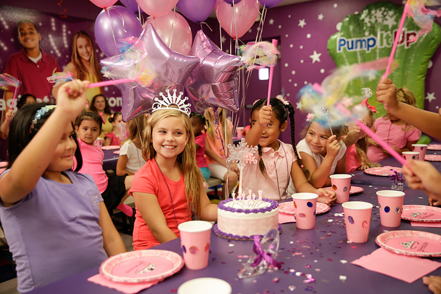 Make your child a prince or princess for a day with Pump It Up.