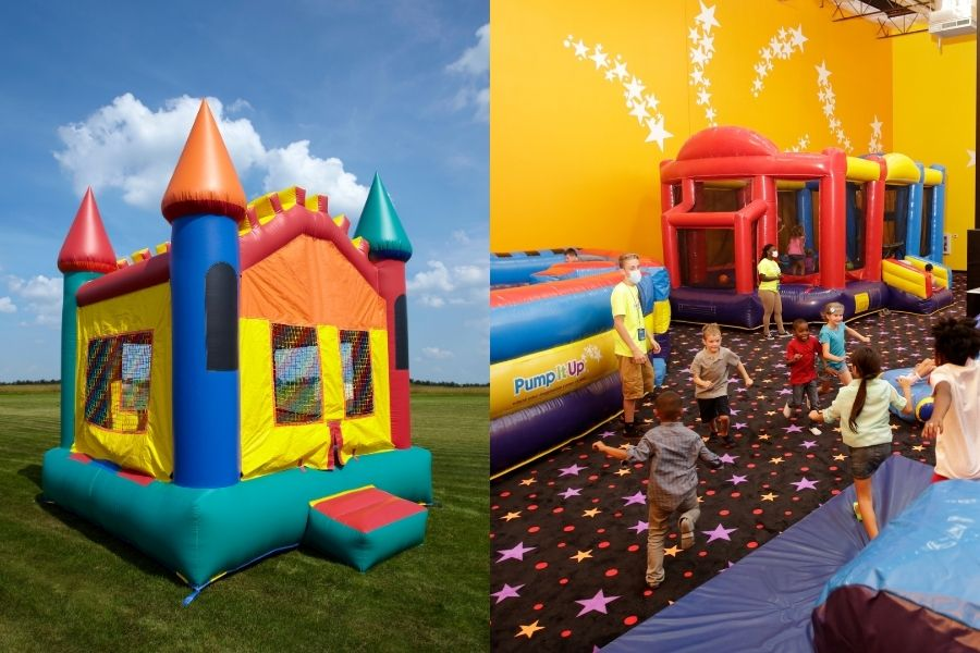 Inflatable for Rent vs. Indoor Inflatable Event